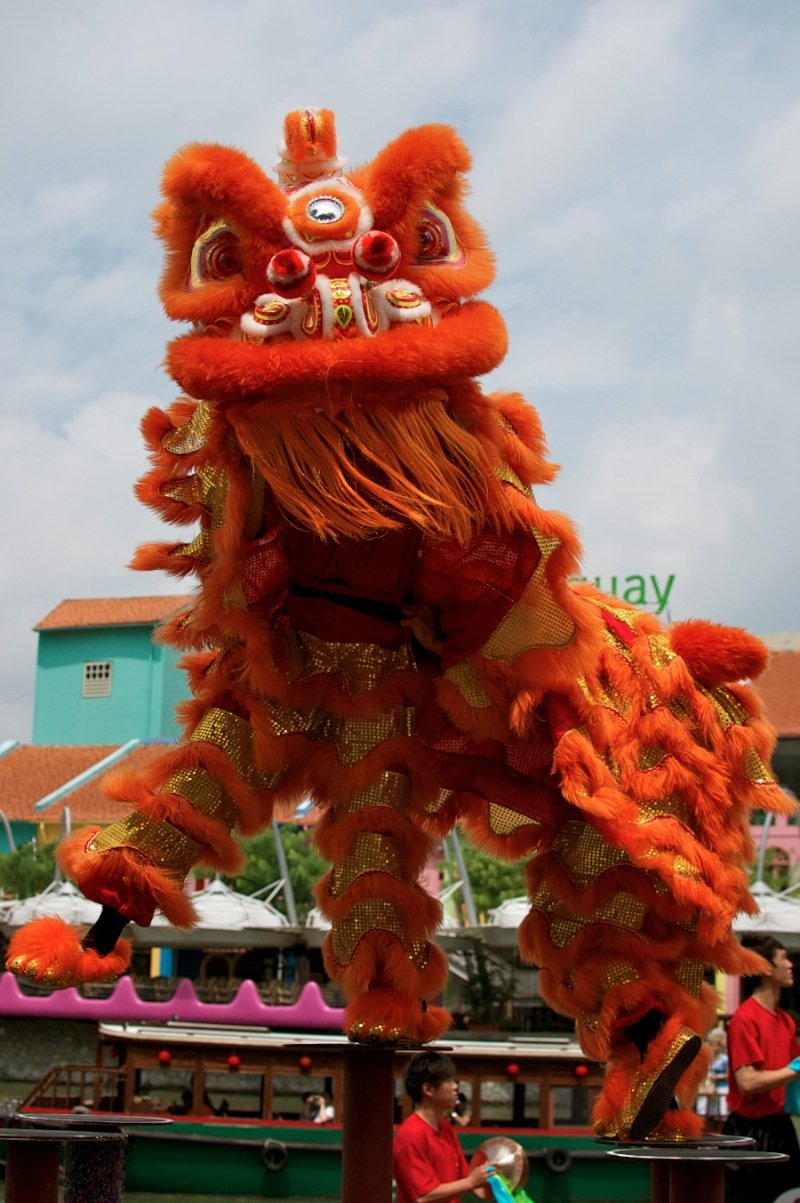 the lion dance essay In the following, only the main chinese folk dance forms, the dragon dance and the lion dance as well as the peacock dance, will be described.