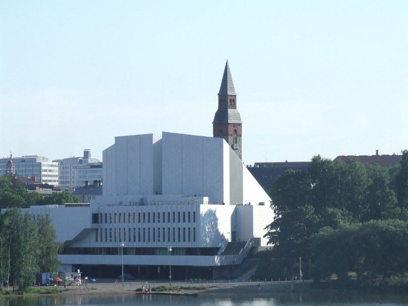 Casa Finlandia and History Museum, Helsinki, Finland