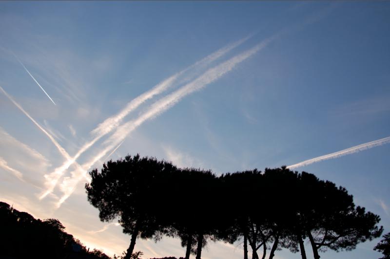 Sky in Santa Margherita Ligure, Italy