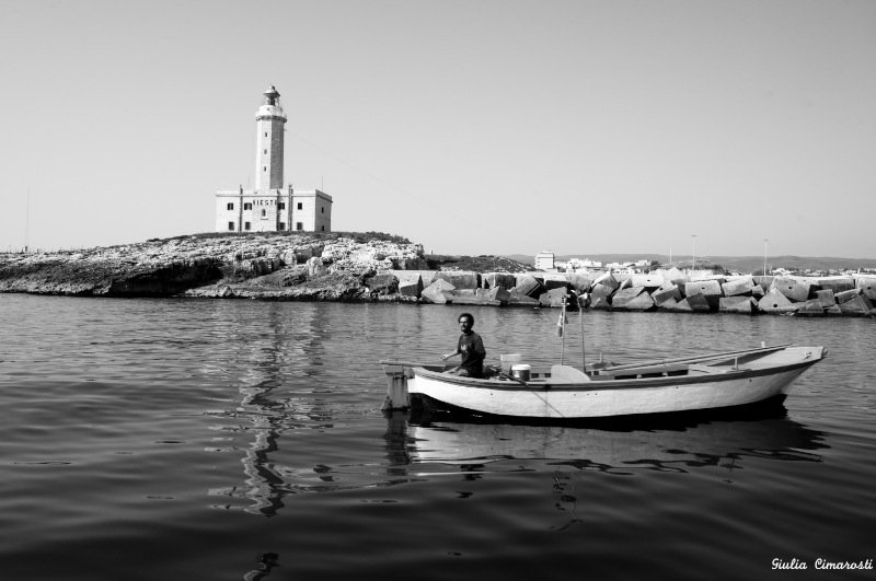 Vieste Lighthouse Photo