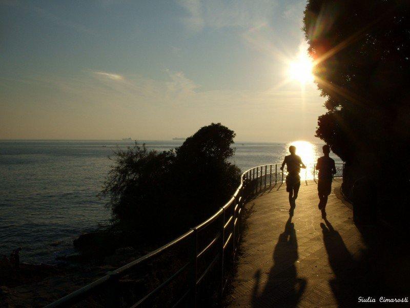 Keep going! Nervi Promenade Passeggiata Genova ITaly