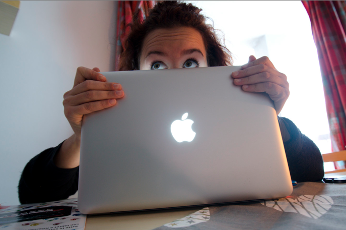 Me and my Macbook Pro 13""