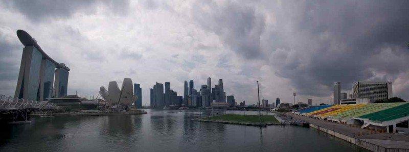 Singapore Marina Panorama