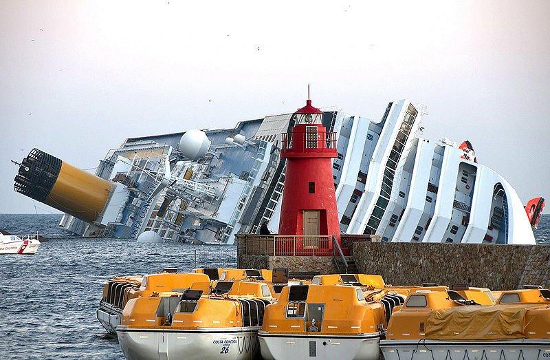 Costa Concordia shipwreck 2012