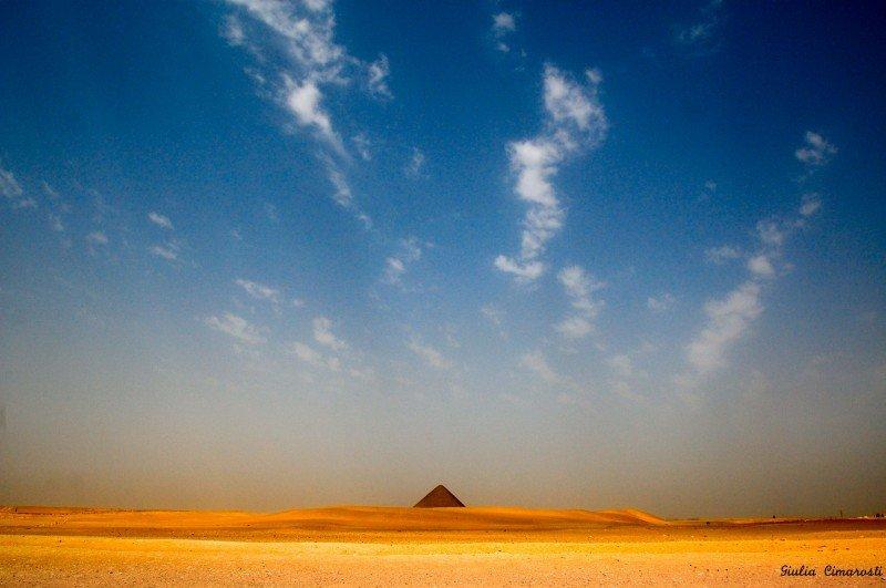 The Red Pyramid of Dahshur, Egypt