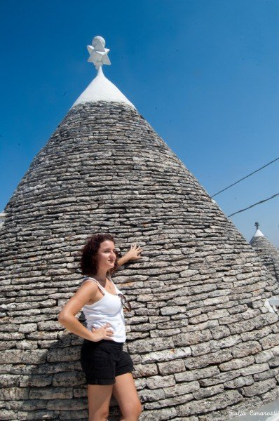 Me flirting with a Trullo/1