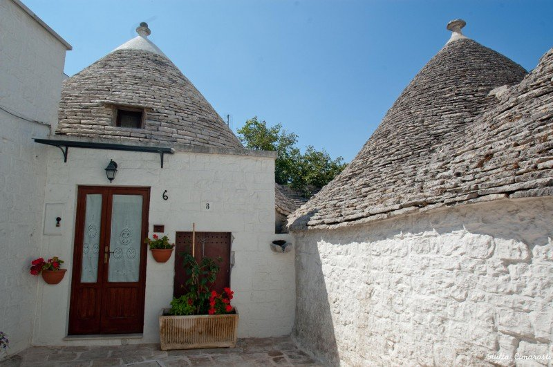 The first Trullo I saw on the way to the center... and I was in love