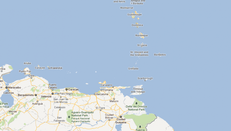 Saint Vincent and the Grenadines - map