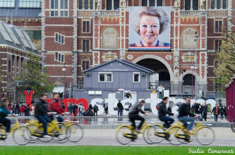 I AMsterdam - bikes