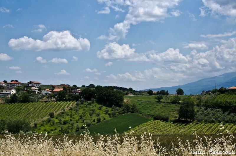 The beautiful hills of Abruzzo