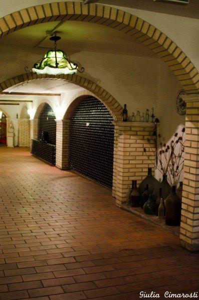 The cellar at Bosco Nestore