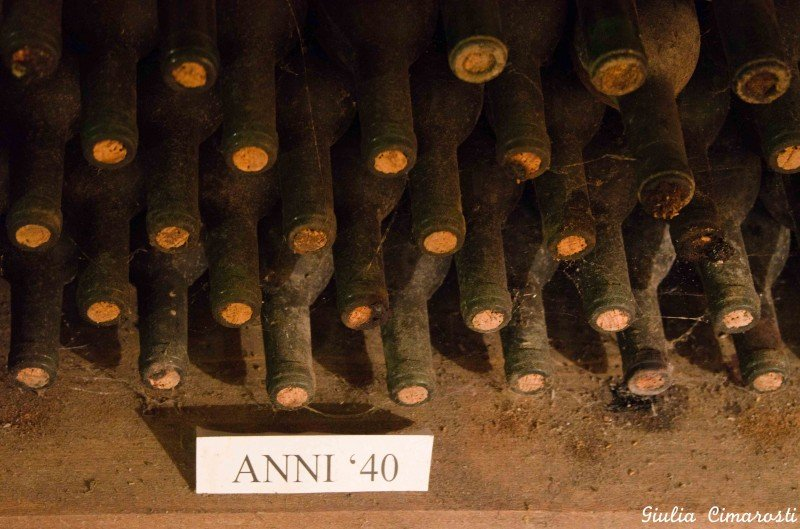 The oldest bottles from the 40's