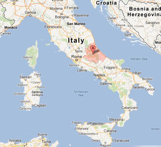Where is Abruzzo?