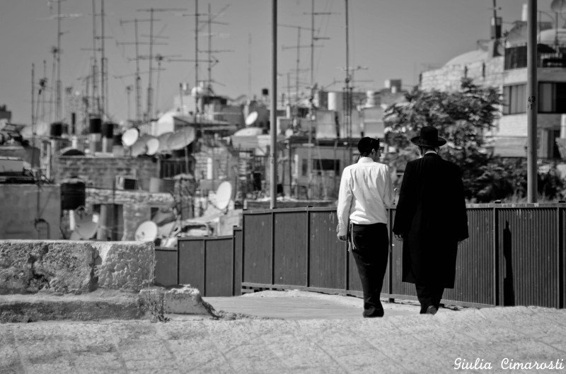 On the rooftops of Old Jerusalem