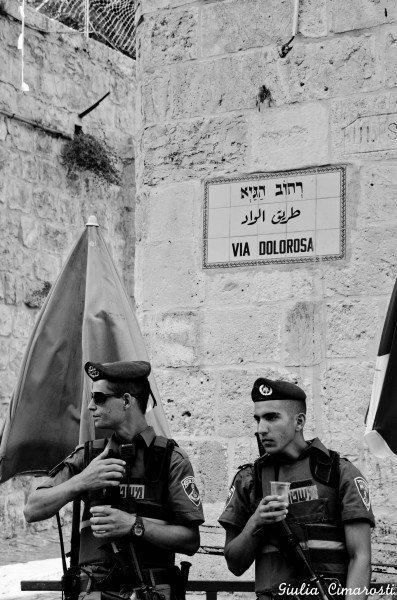 "Via Dolorosa, ""Way of Grief"", Old Jerusalem"