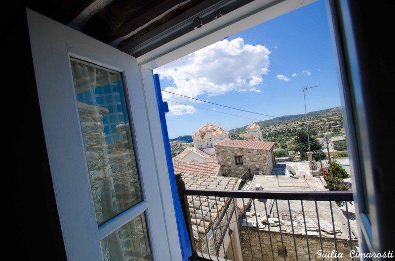Skarinou Village - view from my window