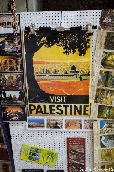 Visit Palestine! Vintage poster