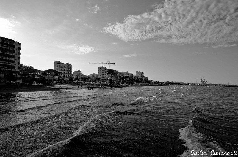 Larnaka, the promenade