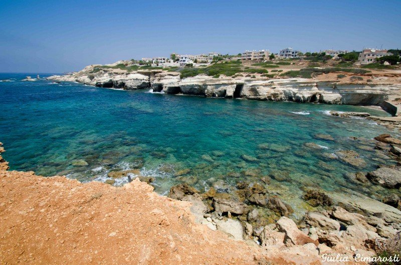 The Pafos sea caves