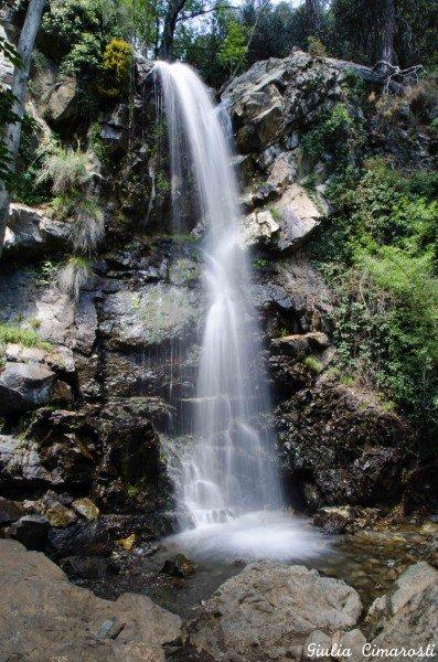 The Kaledonia waterfalls, Cyprus