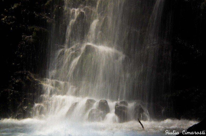 Kaledonia waterfalls: a close up