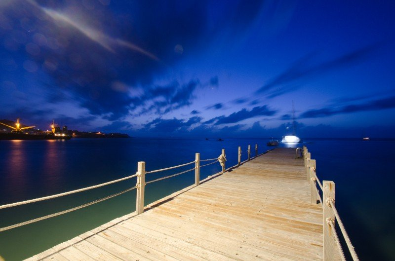 Canouan Island by night