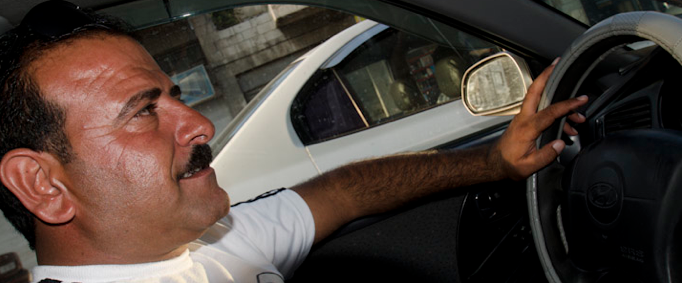 Mohammed, my taxi driver from Amman to Jerash and back