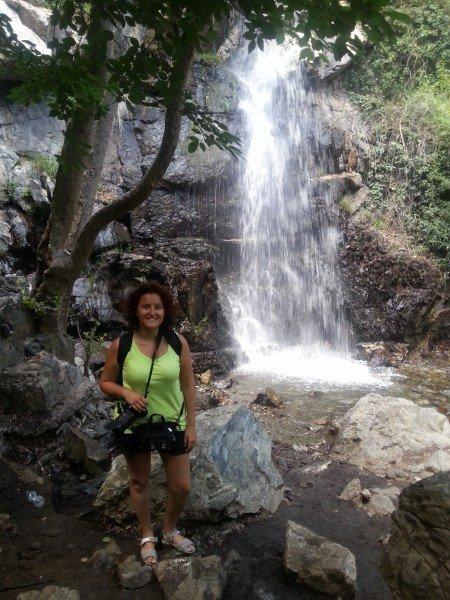 The Kaledonia waterfalls of Cyprus