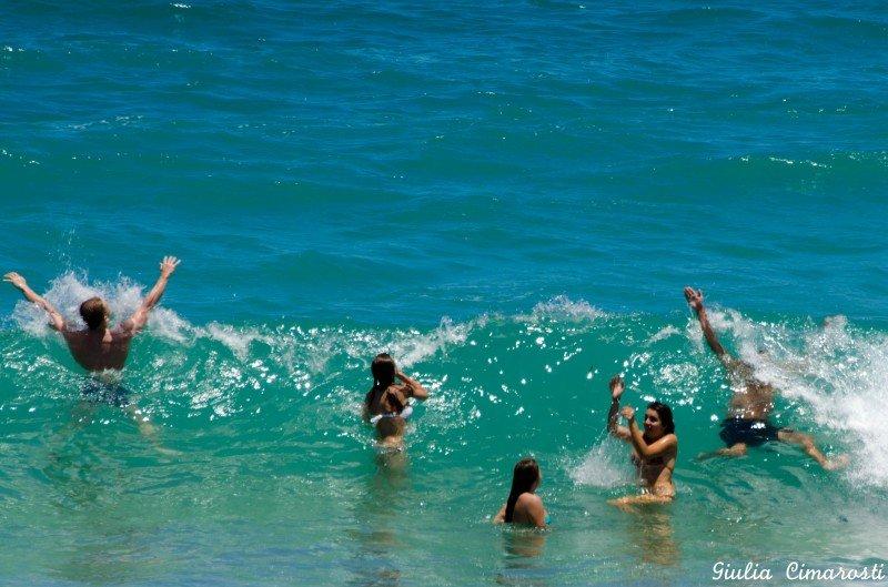 The sea in Protaras, Cyprus