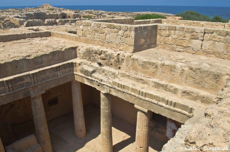Tombs of the kings, Cyprus: history & the sea