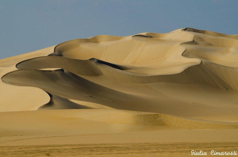 The dunes of Western Egypt