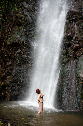 Me @ Dark View Waterfalls, SVG
