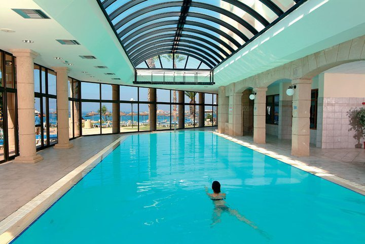Indoor pool at Alexander the Great
