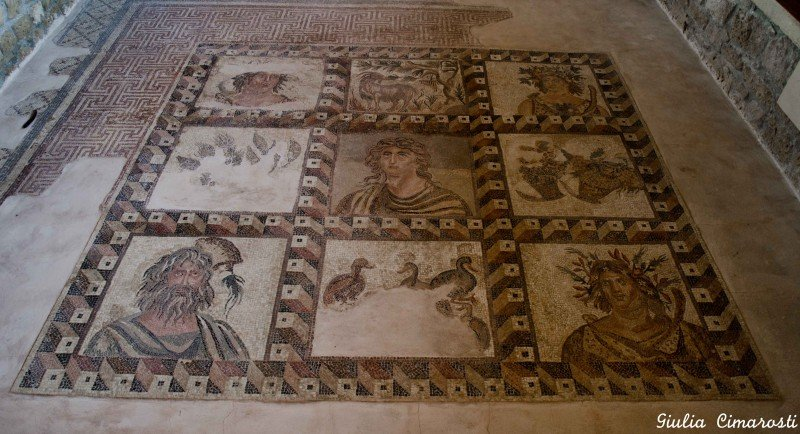 The Four Seasons Mosaic in Pafos