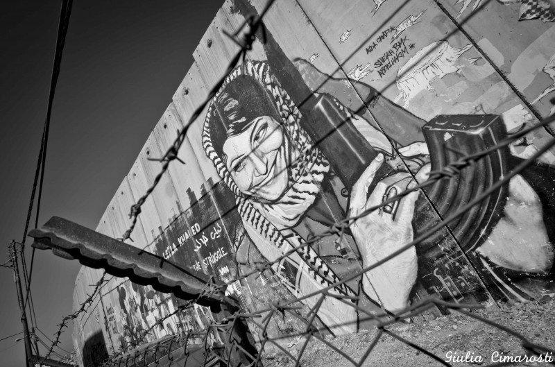 Leila Khaled, Bethlehem Wall