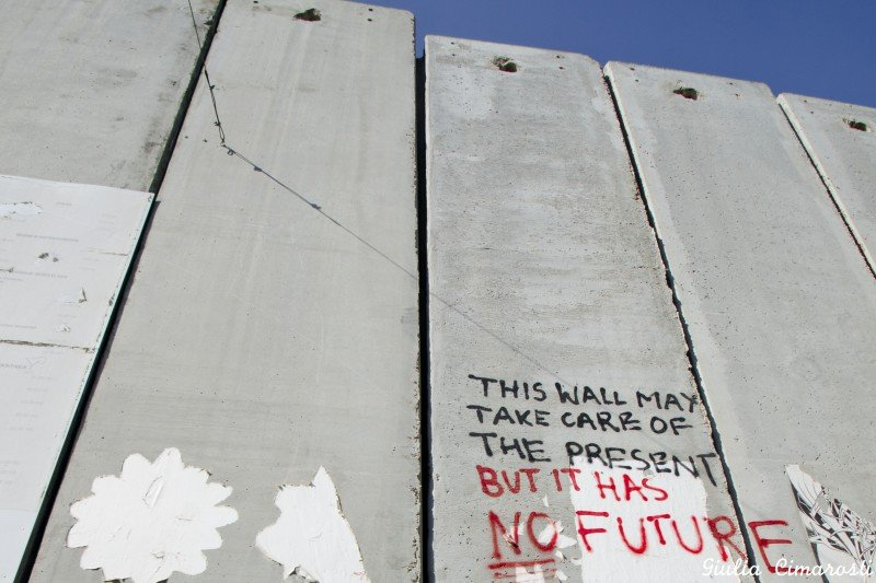 No Future! Graffiti in Bethlehem, Palestine