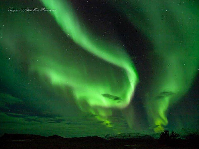 Beautiful Aurora by Runólfur Hauksson