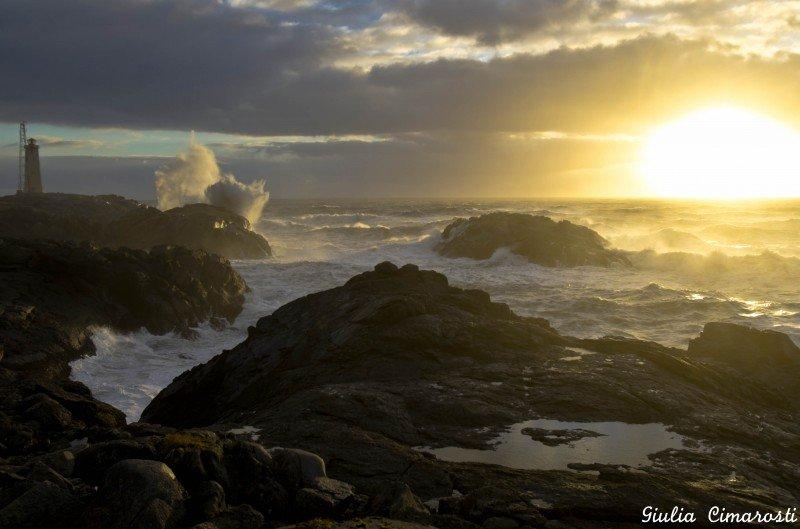 Sunrise in Stokksnes
