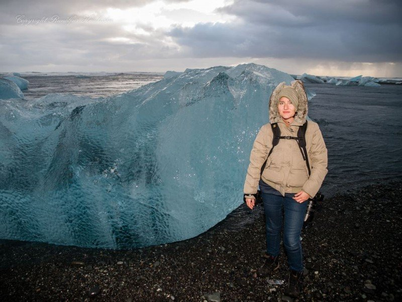 Me and the iceberg
