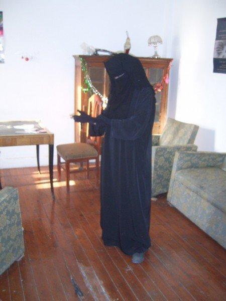 Rocking my Niqab