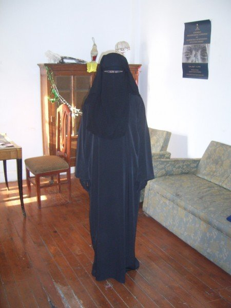 Me in a Niqab