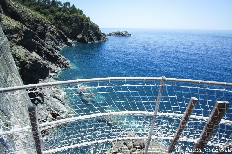 """One of the """"terraces"""" on the sea found on the cyclable path"""