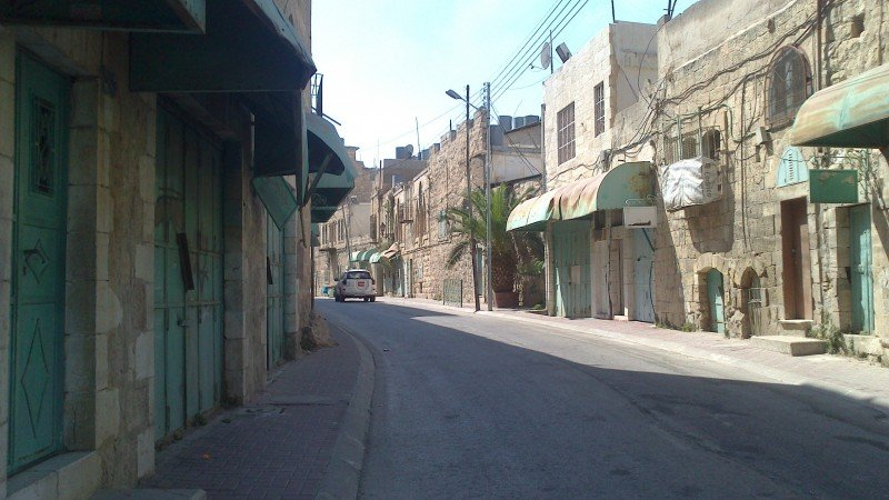 Shuhada Street in Hebron, the ghost city of Palestine