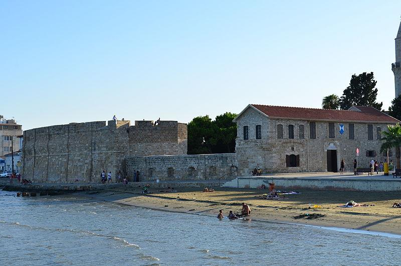 The Larnaca Fort - photo by Valantis Antoniades (Wikimedia commons)