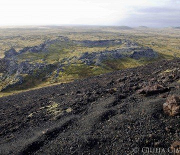 Lava fields around Saxholl
