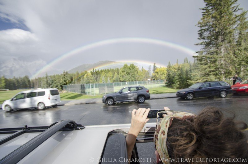 Double rainbows and unicorns, Banff