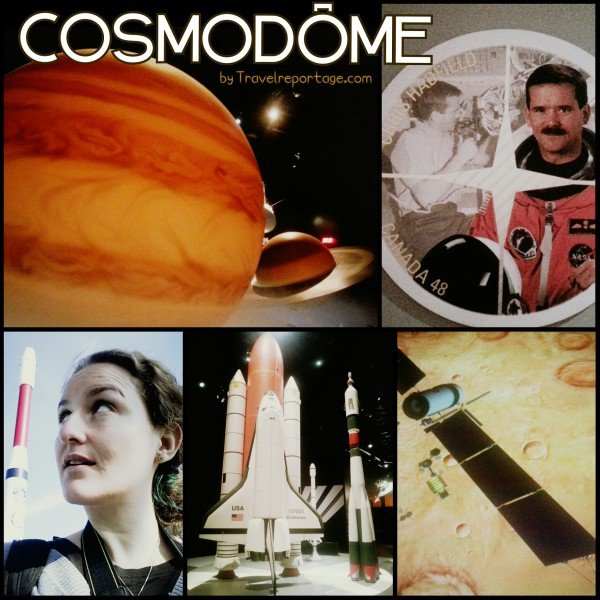 Me at the Cosmodome in Laval