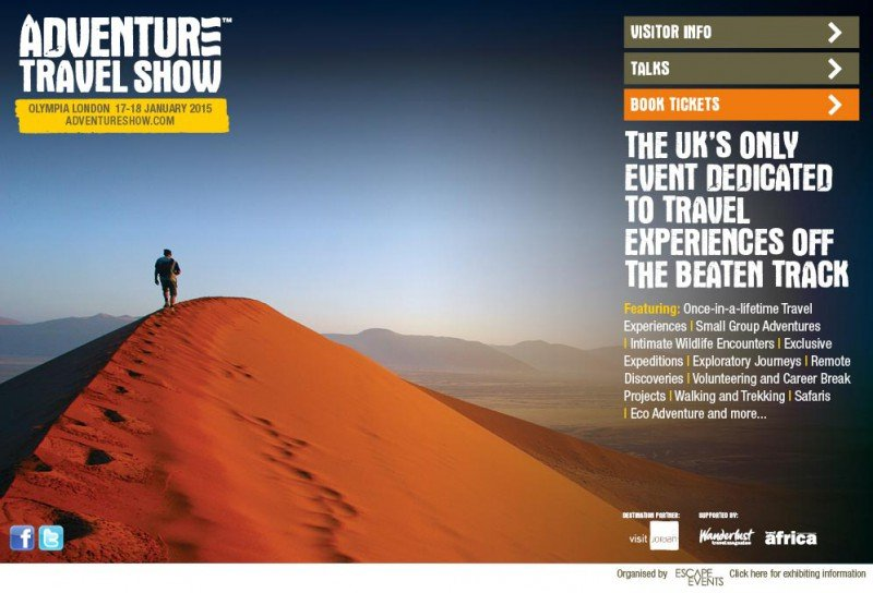 The Adventure Travel Show 2015