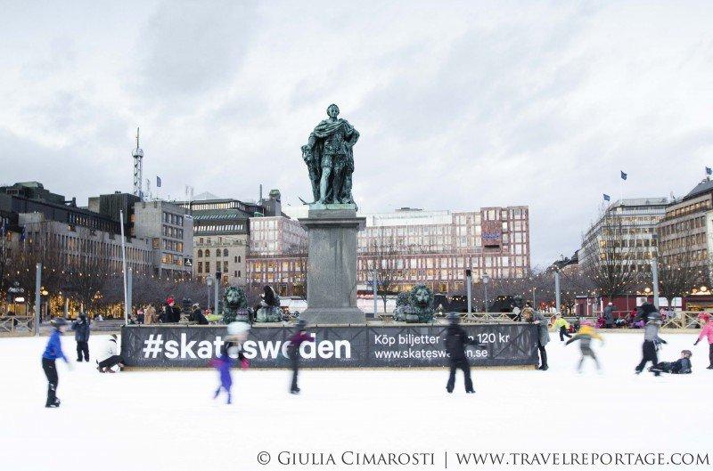 Stockholm ice rink
