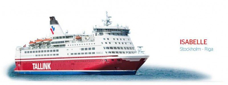 M/S Isabelle took me from Stockholm to Riga #BalticTR